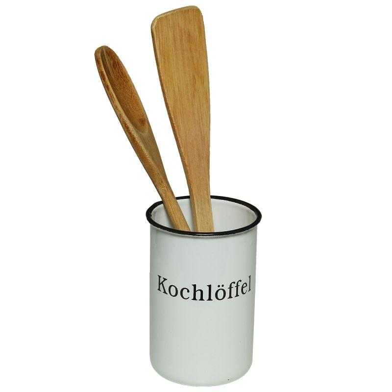 Enamel Spoon Holder