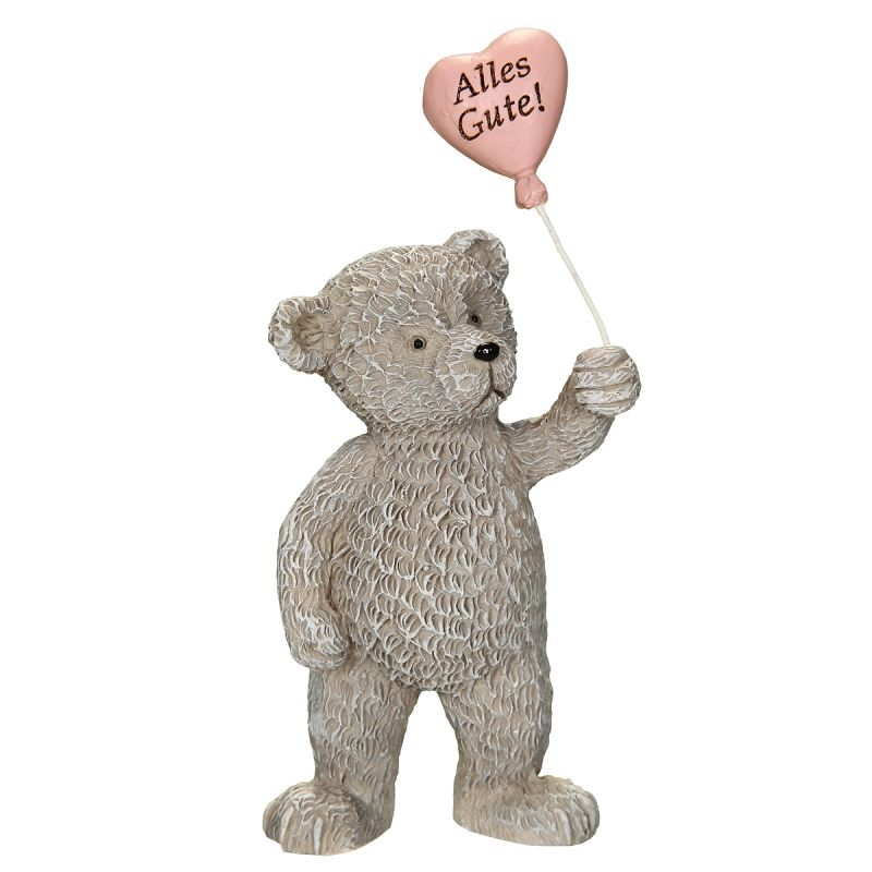 Bear with Heart - Alles Gute 10cm