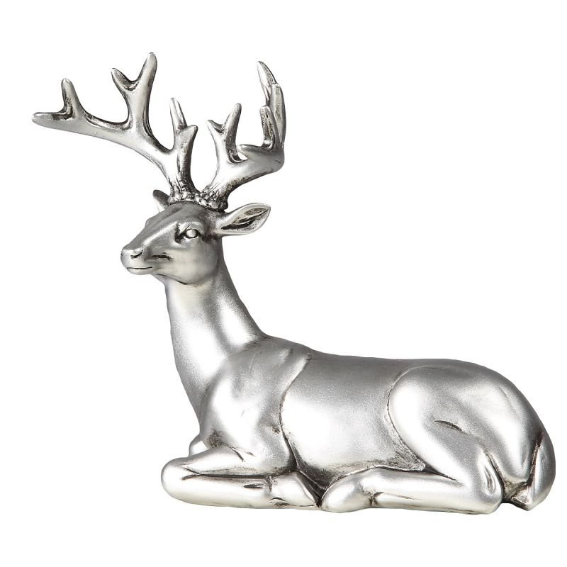 Stag Figure - Laying