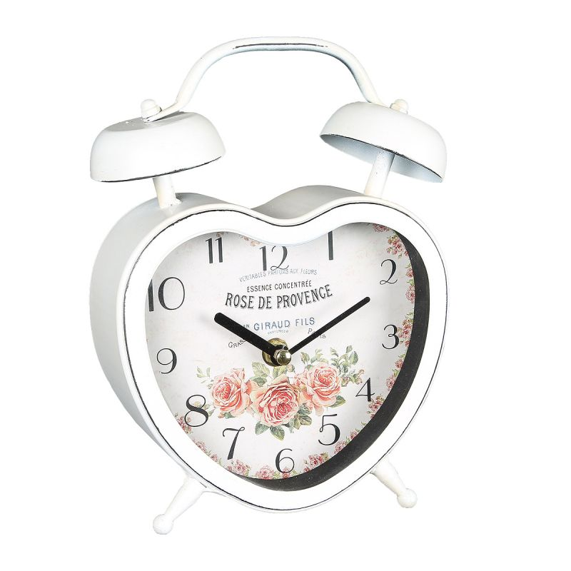 Metal Clock Heart