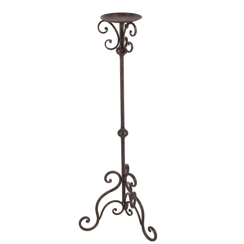 Candle Holder - Antq. Brown 80cm