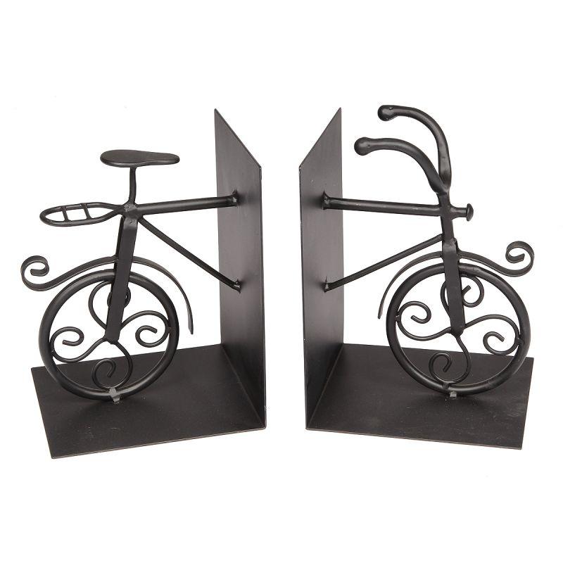 Metal Bike Bookends