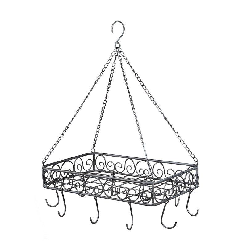 Iron Pan Hanger - grey 40cm