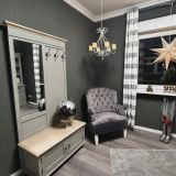 Classic Chair Grey Silver