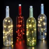 Red Bottle with LED Light