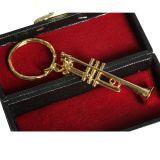 Keyring - Trumpet 7cm