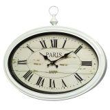 Paris White Clock 34x50cm