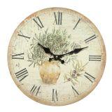 Olive Wall Clock 28cm