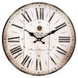 Antq. Wall Clock 28cm