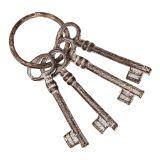 Antq. Bunch of 4 Keys