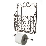Magazine & Toilet Roll Holder 43cm