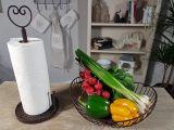 Kitchen Roll Holder - Heart 39cm