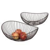 Fruit Bowl - Pair 38cm