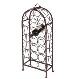 Bottle Rack 20 Btl - Antq Brown