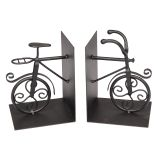 Metal Bike Bookends