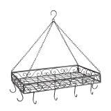 Iron Pan Hanger - grey 60cm